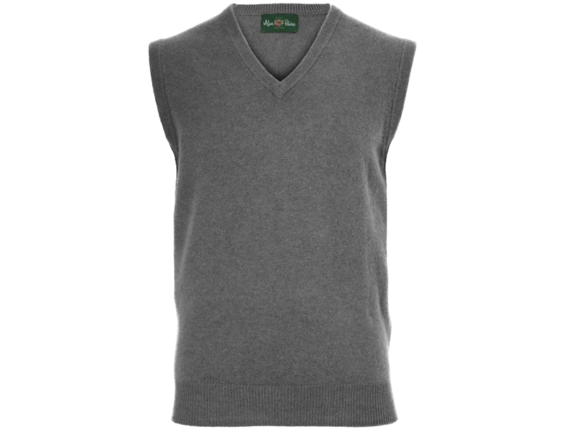 Alan Paine Sleeveless Sweater