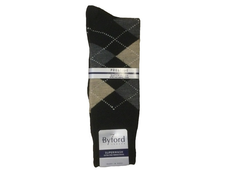 Byford Argyle Socks