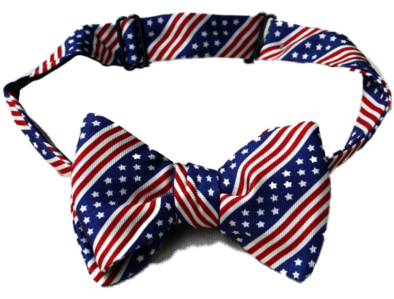 Stars & Stripes Bow Tie